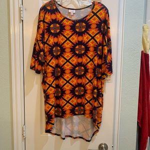 LulaRoe Irma Southwestern Pattern Tunic Top